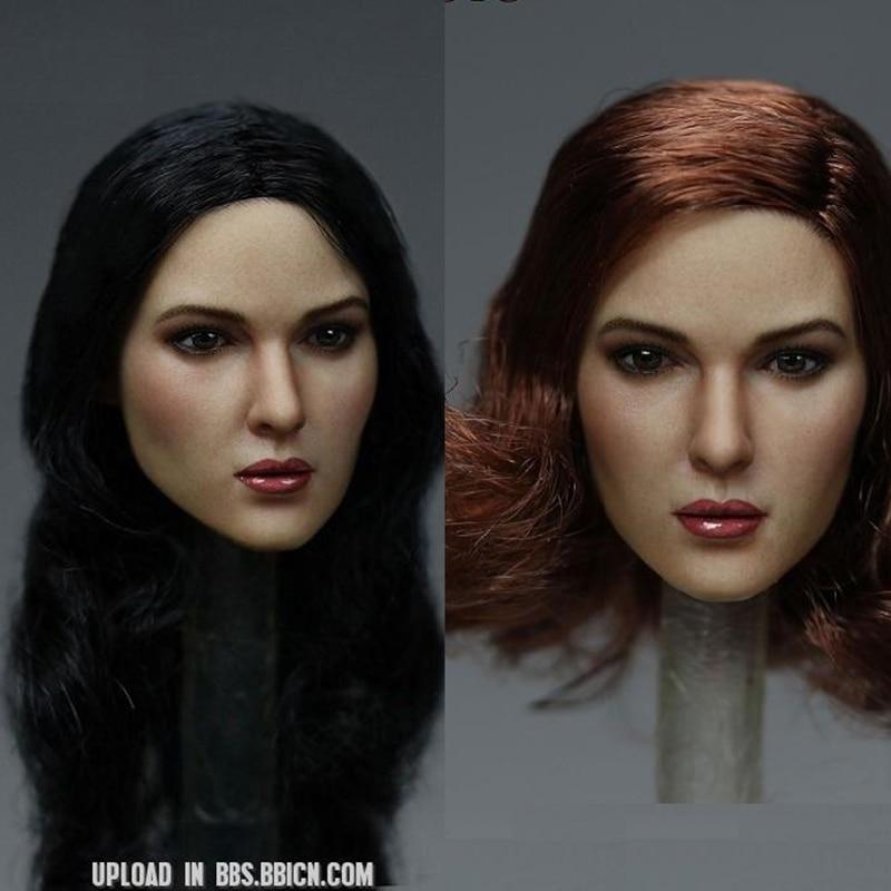 """Figura de acción de KIMI TOYS KT011 a escala 1/6, modelo de cabeza femenina F 12 """"PH TBLeague, juguetes para el cuerpo"""
