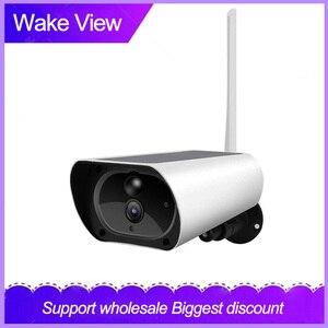 WakeView Outdoor HD 1080P Wifi 4G Solar Camera Security Surveillance Audio Home Security Camera wifi Waterproof PIR APP IR