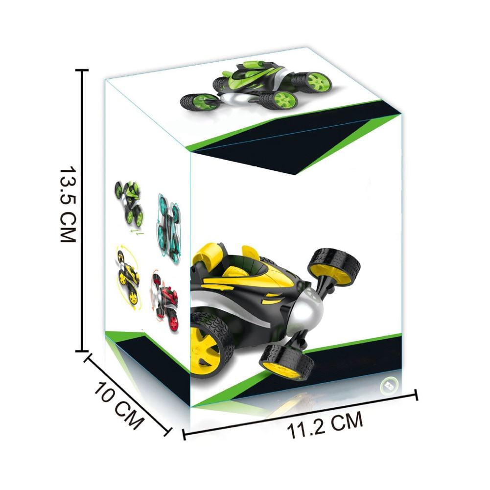 360 Degree Tumbling Stunt Wireless RC Car For Children Electric Cool Remote Control Cars Boy Birthday Gifts New enlarge