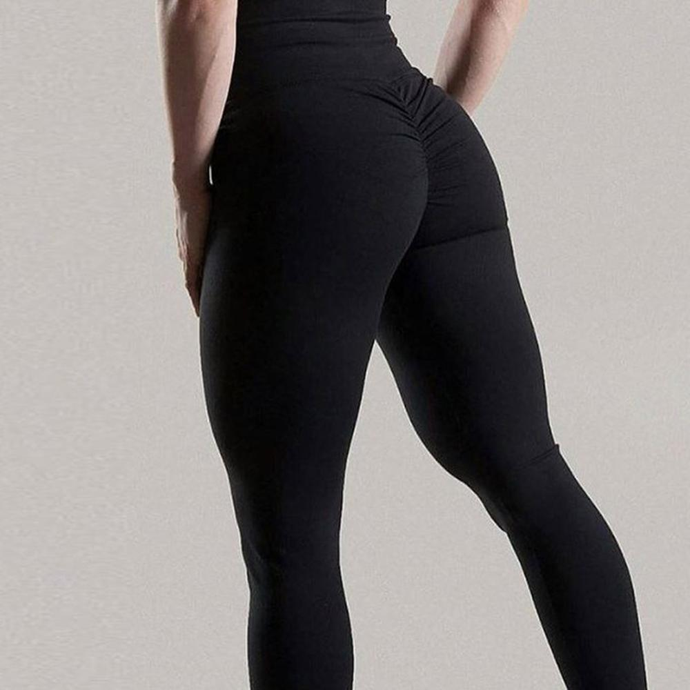 BEFORW 2020 Sexy Leggings Women Solid color leggings High Waist Casual Push Up Workout Fitness high waist Legging
