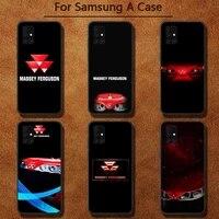 massey ferguson luxury unique design phone case for samsung a91 01 10s 11 20 21 31 40 50 70 71 80 a2 core a10
