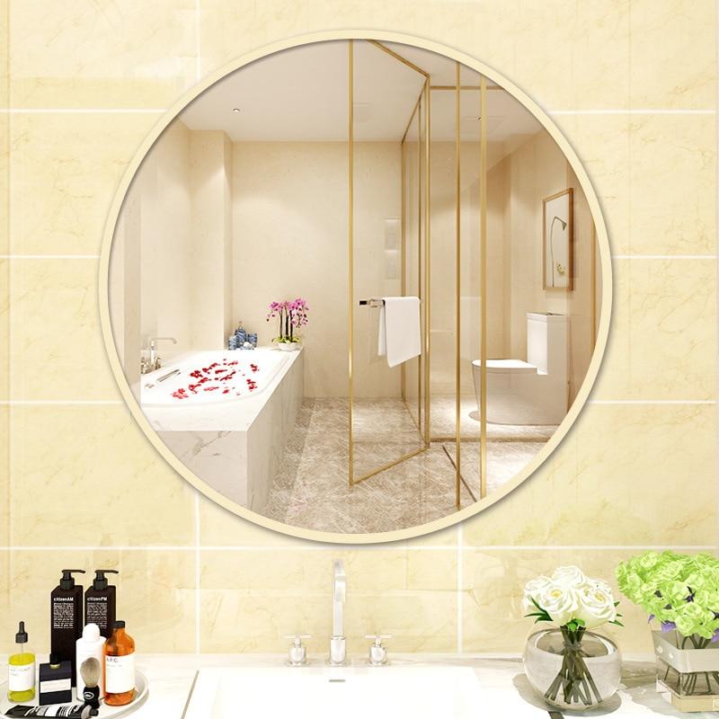 جولة فندق غرفة على الانترنت المشاهير مرآة الشمال نمط دش مرآة 20 في الحمام ألو سبيكة مرآة الحمام جدار مرآة لوضع مساحيق التجميل