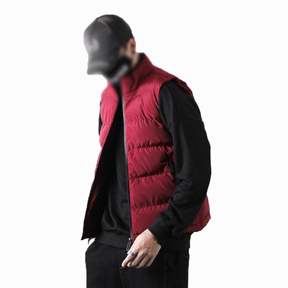 Лидер продаж, зимняя мужская хлопковая одежда Covrlge, Мужская модная индивидуальная жилетка, повседневная мужская теплая хлопковая одежда, Тр...