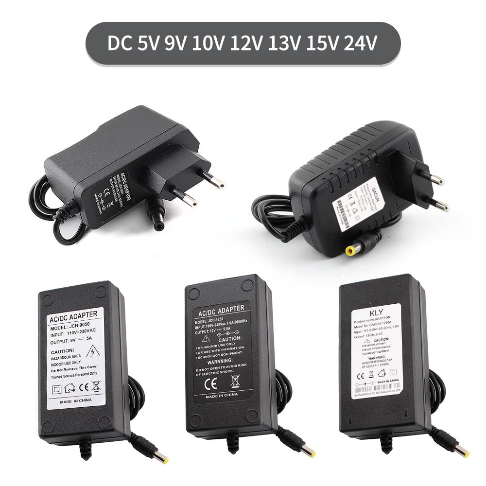 AC DC 5V 6V 8V 9V 10V Power Supply 12V 13V 14V 15V 24V 1A 2A 3A 5A 6A 8A Transformers 220V To 12V 5V Power Supply Adapter 12 V