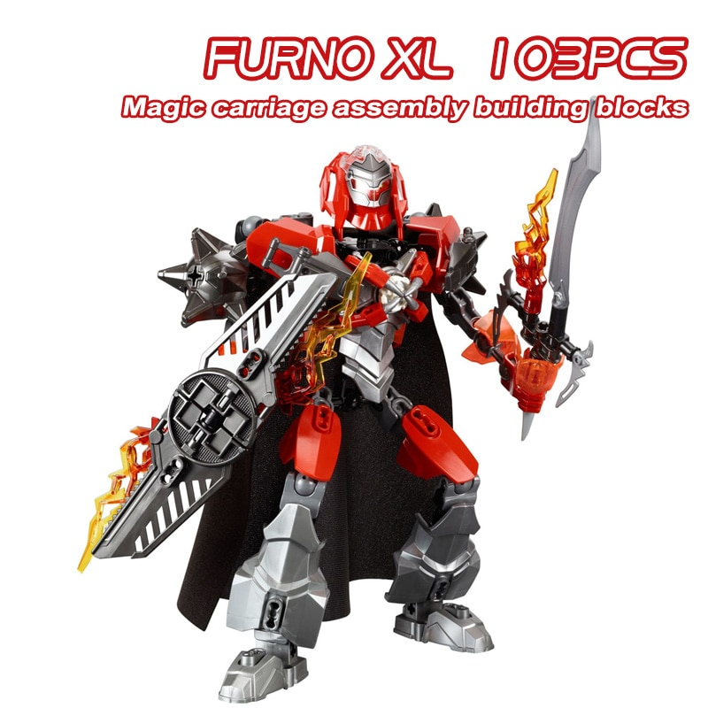 Hero Factory 5.0 Fit Robot Furno XL Pyrox Hero Factory 6.0 Bionicle Building Blocks Bricks Toys For Children Boy Gifts
