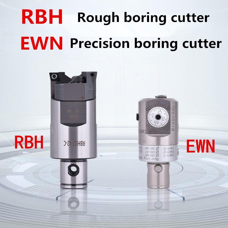 CNC عالي الدقة الدقة مملة رئيس EWN53-95 نك مملة رئيس 0.01 مللي متر الصف زيادة نك مطحنة مخرطة أداة