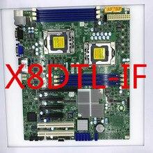 X8DTL-iF double X58 1366 serveur poste de travail carte mère