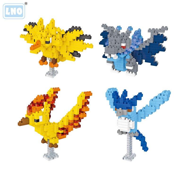 LNO блоки игрушки пазл Мини Строительные блоки игрушки для детей