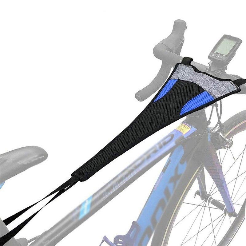 Bicycle Trainer Sweatbands Indoor Bike Sweatband Cycling Sweatband Handlebar Accessory Sweat Net Frame Guard Protect