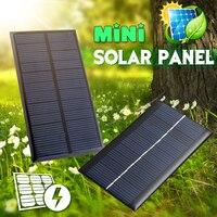 Солнечная панель 2V 5V 6V 12V Мини Солнечная система DIY для аккумуляторов Зарядные устройства для мобильных телефонов портативная солнечная бат...