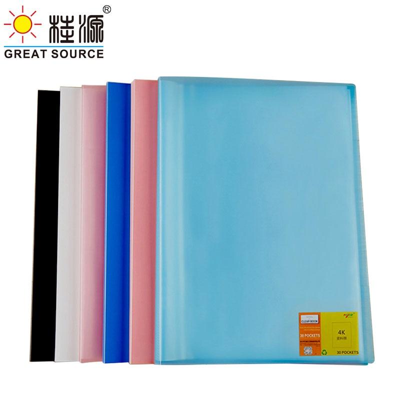 4K Дисплей папка для рисования Презентация книги 20 прозрачные карманы Необычные конфеты Color573 * 425 мм (22,56