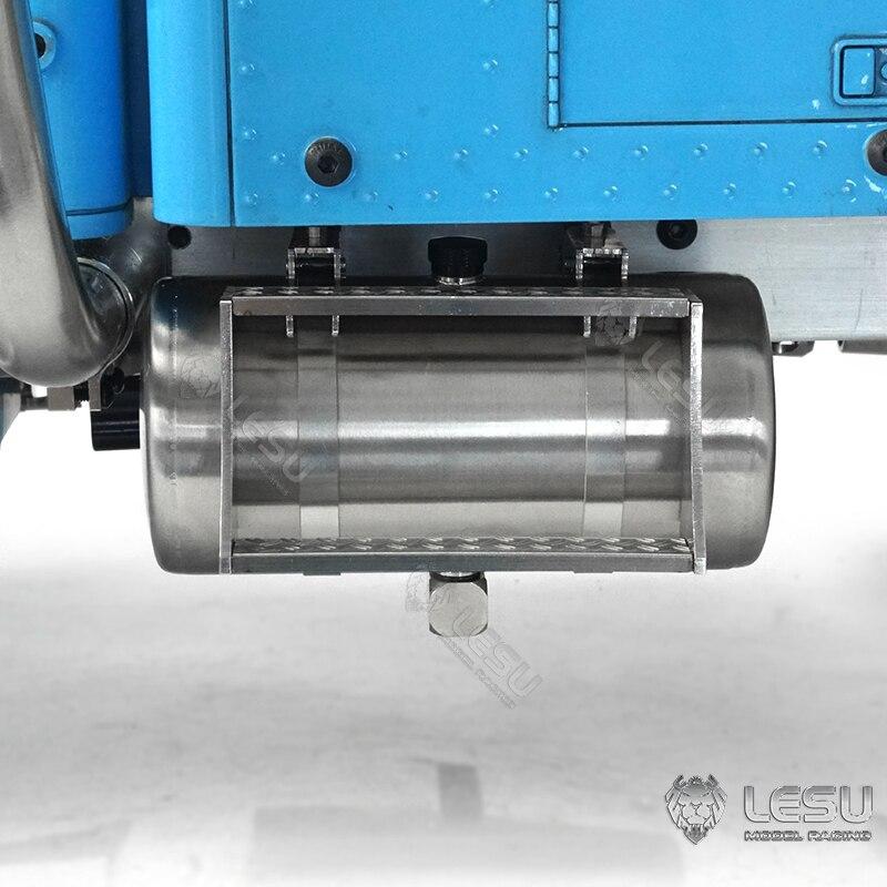 LESU Metal Oil Tank C 85MM for 1/14 DIY TAMIYA King Hauler RC Tractor Remote Control Truck Model TH19234-SMT5 enlarge