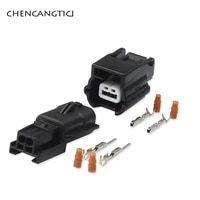 5 sets 2 pin way 7282 8851 30 7283 8851 30 automotive waterproof electronic connector housing wire socket female male plug