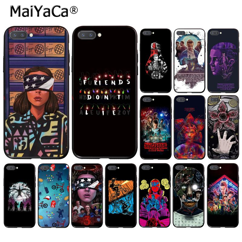 MaiYaCa extraño cosas TEMPORADA 3 funda del teléfono para Huawei Honor 8X 9 10 20 Lite 7A 8A 5A 7C 10i 20i 9X jugar 8C