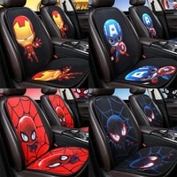 marvel cartoon car seat summer cooling pad monolithic breathable ice silk four seasons universal