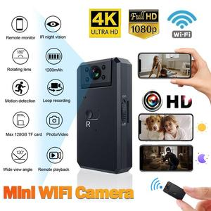 Mini camera App Full HD 720 /4K camera 150 wide angle wireless WiFi IP network monitoring security night version camera