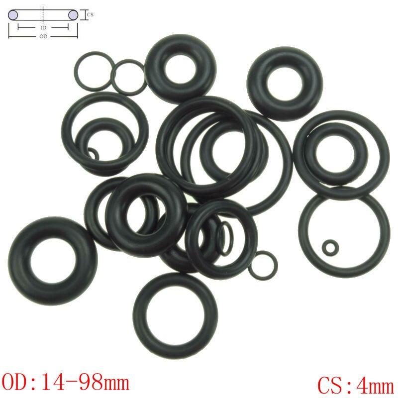 CS 4 мм OD14-98mm NBR резиновое уплотнительное кольцо уплотнительное уплотнение для автомобиля
