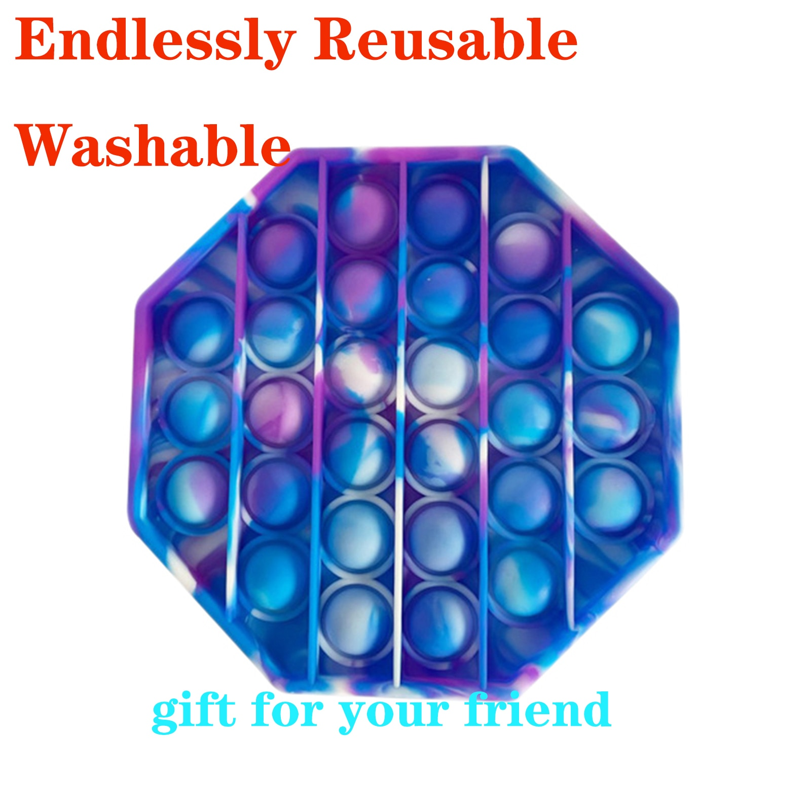 Hot Toy Push Dimple Fidget Sensory Toy Stress Reliever Adult Children Squishy Squeeze Toy Антис