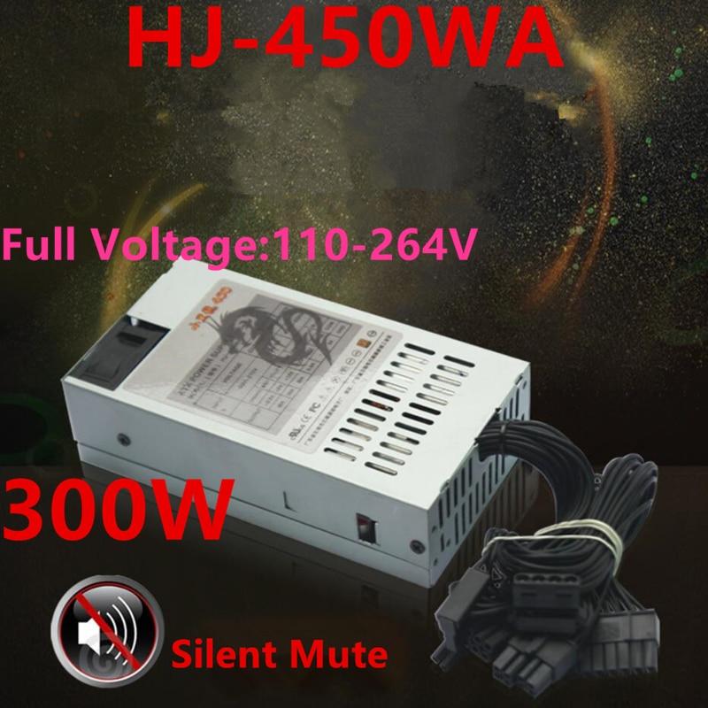 New PSU For Royal Legend AIO HTPC FLEX NAS Small 1U MS04 Rated 300W Peak 450W Power Supply HJ-450WA