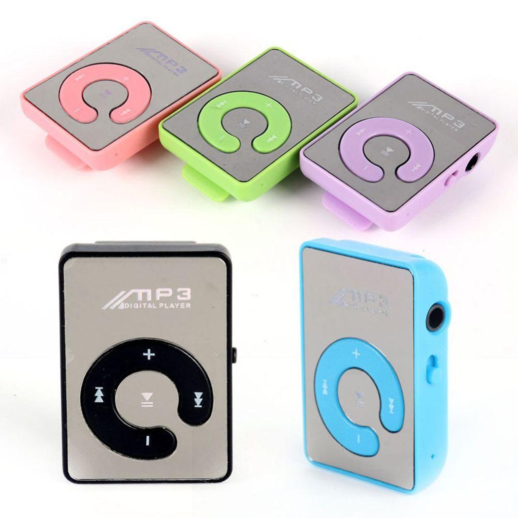 Hot Sale 1PC Mini MP3 Player Portable Clip MP3 Music Player Support 8GB TF Card Fashion Sport Music