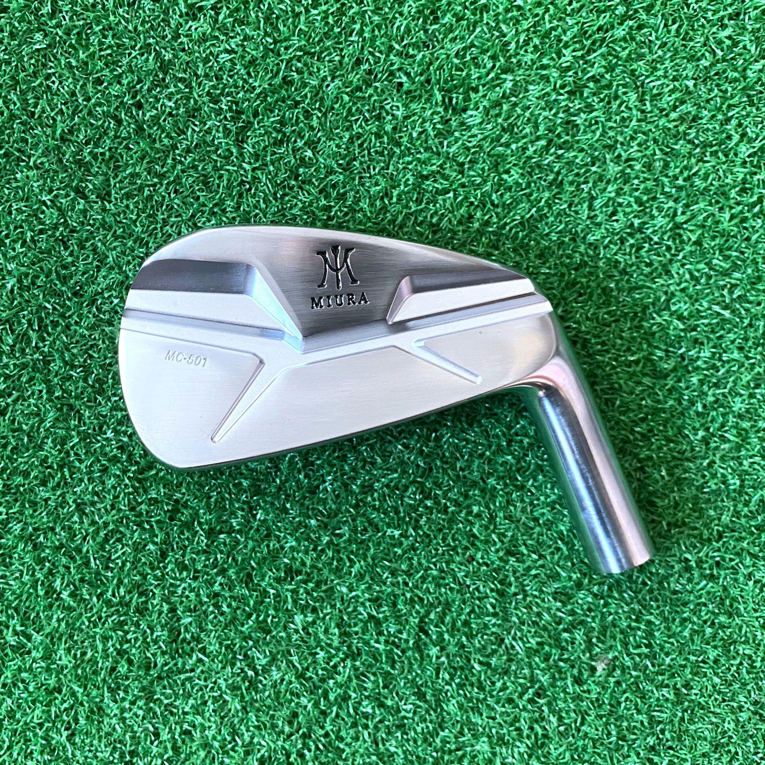 Golf Clubs Irons Head No Shaft Miura-mc501 Free Shipping Soft Iron Forged 4-P 7PCS Men