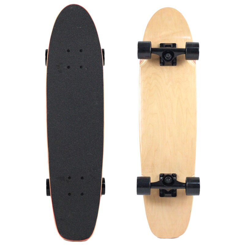 Mens Skateboard Profesional Wooden Colourful Skateboard Single Rocker for Adults Planche De Skate Sports Entertainment EI50SA