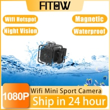Taida 1920*1080 Full HD Mini Wifi IP Camera Waterproof Night Vision Sport Camcorder DVR Motion Micro