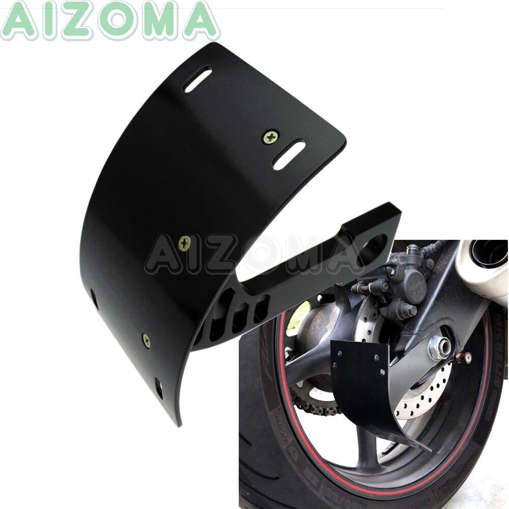 Soporte de placa de matrícula curvada para motocicleta Kawasaki ZX-6R 636, soporte de número de matrícula lateral para Kawasaki ZX7R ZX9R ZX12R ZX14R