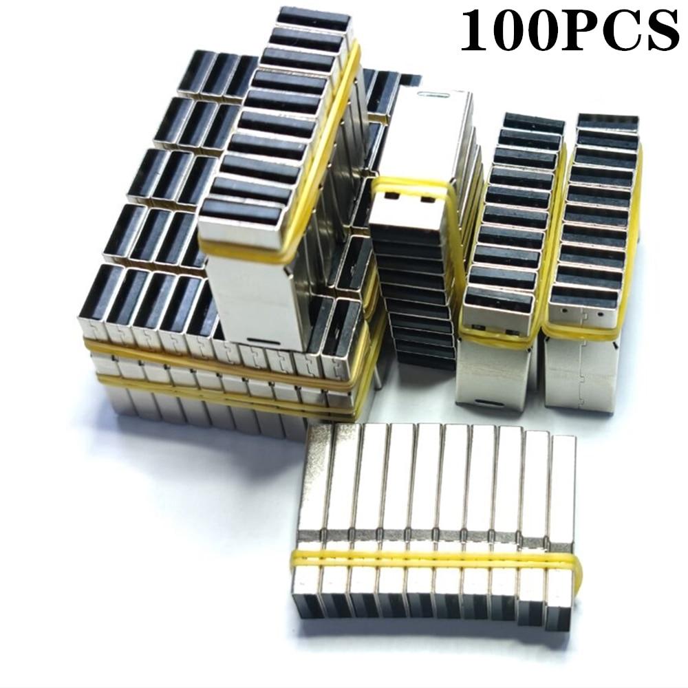 100PCS UPD Chip USB 2.0 chip 2GB 4GB 8GB 16GB 32GB 64GB 128MB 512MB  pendrive memory disk flash short universal board U disk DIY