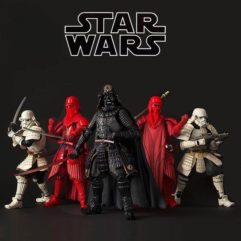 17cm Star Wars Action Figure The Bounty Hunter Boba Fett Darth Vader Anime Figurine Action Collection Toys Model for Children