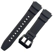 Bracelet en caoutchouc pour casio bande pour SGW-300H 400H 500H MRW-200H AE-1000W AE-1300 AE-1200 W-S200H W-800H W-216H W-735H W-215 AEQ-110W