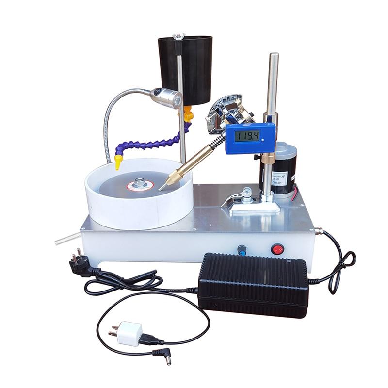 GPM-BXG مجوهرات جوهرة ماكينة الطحن 120 واط مجوهرات صغيرة اليشم آلة الأوجه شاشة ديجيتال طاحونة و آلة الملمع 220 فولت