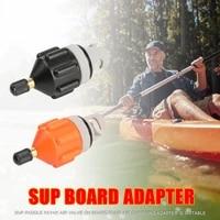durable kayak air valve adapter wear resistant rowing boat air valve adaptor nylon kayak inflatable pump adapter for sup board