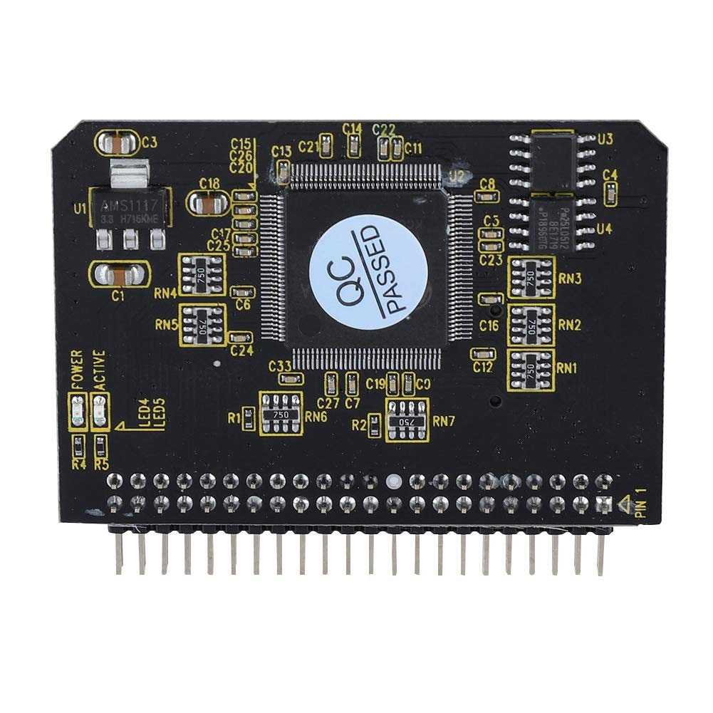 Tarjeta convertidora Micro a IDE de 2,5 pulgadas componentes profesionales estables expansión de disco duro Accesorios de ordenador soporte agregar