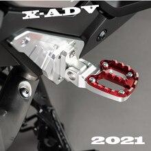 Per HONDA X-ADV 750 XADV 750 X ADV 750 X-ADV 750 2021 accessori moto pieghevoli pedane posteriori pedane poggiapiedi passeggero