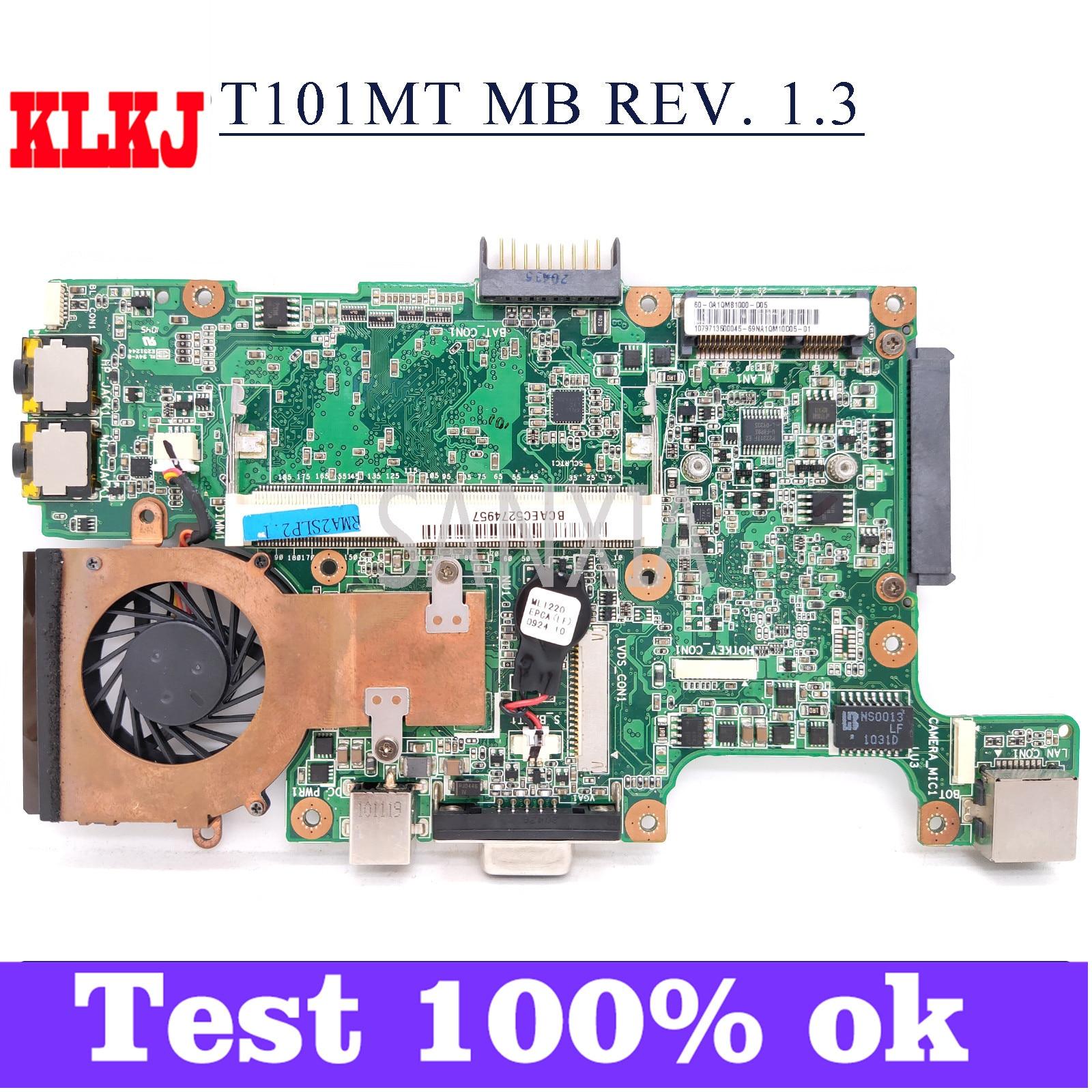 KLKJ-placa base para portátil T101MT_MB, placa base Original para ASUS EeePC T101MT...
