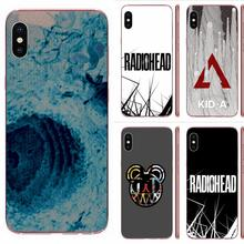 Rock Band Radiohead Soft Silicone TPU Transparent Original For Apple iPhone 4 4S 5 5C 5S SE SE2 6 6S 7 8 11 Plus Pro X XS Max XR