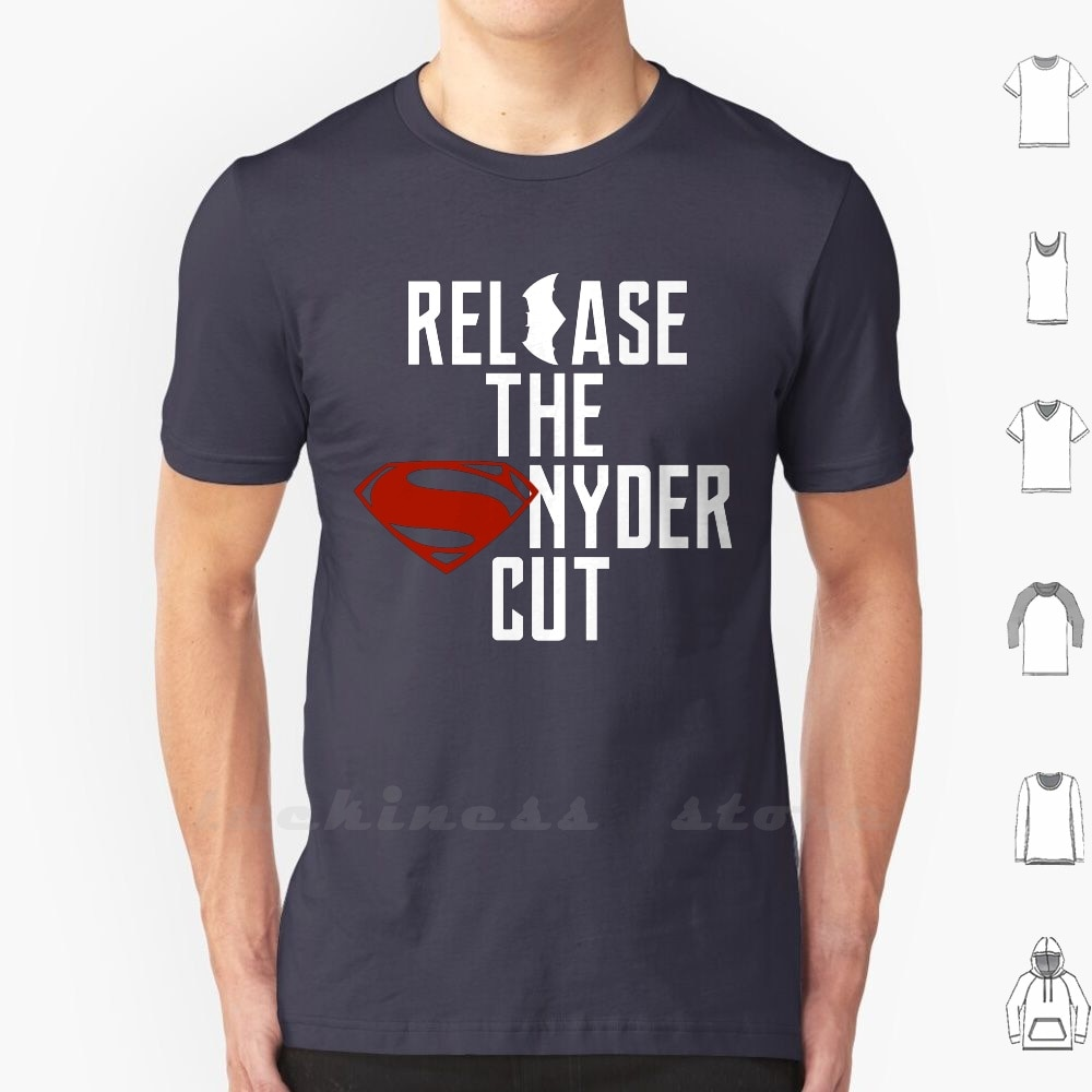 Release The Snyder Cut T Shirt Men Women Teenage Cotton S - 6Xl Zack Snyder Justice Bat Superhero Comic Book Movie