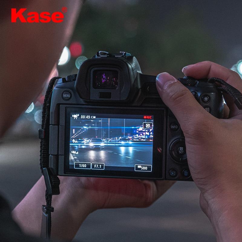 Kase 72mm 77mm 82mm Streak Blue Filter For Creating Cinematic Blue Flares enlarge