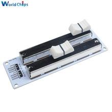 Electronic Building Block 10K Double Row Sliding Linear Potentiometer Sensor Module For Arduino Mixer Linear Sliding Resistance