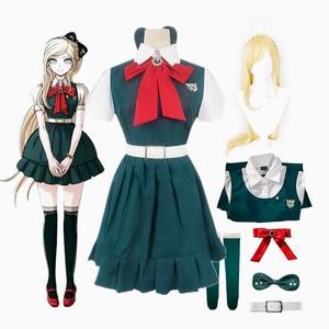 Anime Danganronpa 2 Despair Sonia Nevermind Uniform Halloween Woman Cosplay Costume