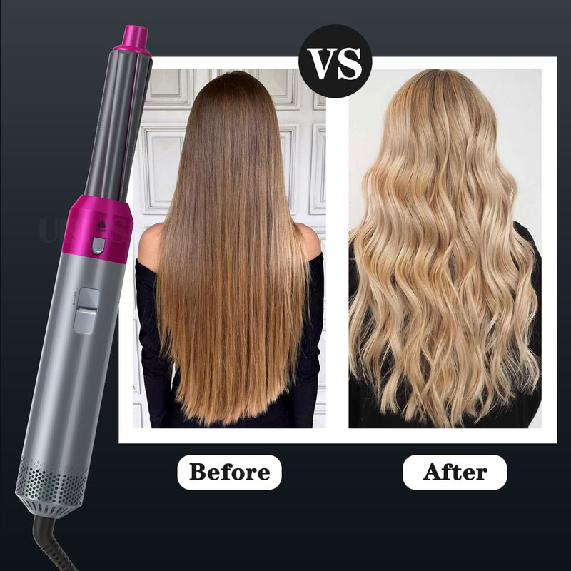 Household Hair Styler Curling Iron Professional Styling Hair Straightener Styling Not Hurt Hair Curling Wet and Dry Hair Dryer enlarge