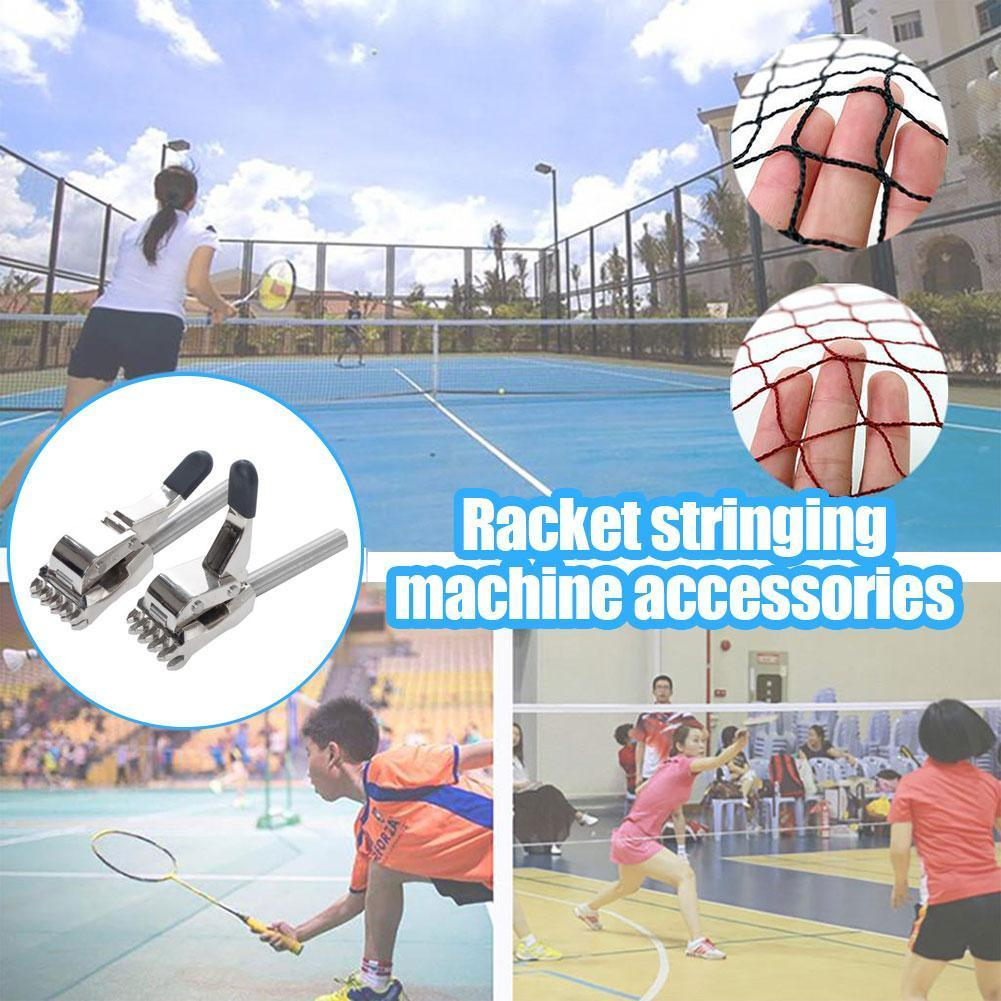 1PCS 12.2mm 12mm Tennis Tools Stringing Machine Flying Auxiliary Tools Accessories Suit Clamp Five Racket For Badminton Tee N5T9