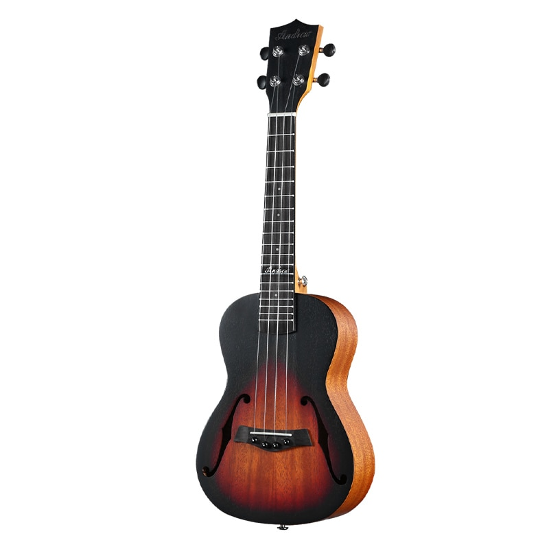 Tenor Ukulele Solid Mahogany Body Bass Kit Acoustic Small Guitar Sports Beginner Classical Perform Guitarra Instruments ZZ50YL enlarge