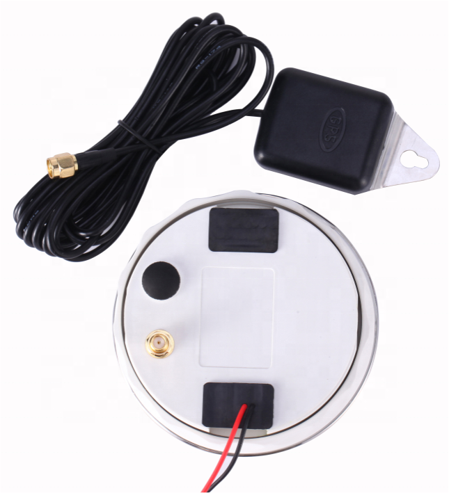 85mm Universal Digital GPS Speedometer KM/H Knots MPH Available TFT Display Screen For Bus Motorcycle Marine Boat  - buy with discount