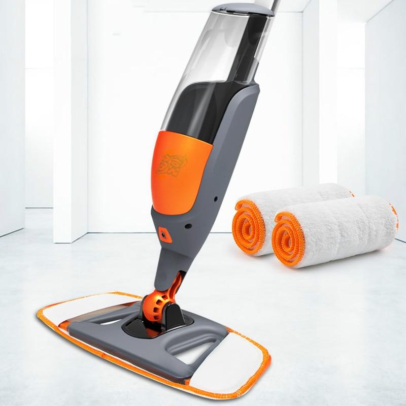Laminado de Madeira Ferramentas de Limpeza Reusável Spray Casa Cozinha Azulejos Cerâmica Piso Limpeza 360 Graus Da60tb Mop