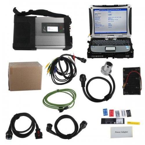 V2020.3 mb sd c5 conectar compacto 5 estrelas diagnóstico com ssd mais panasonic cf19 i5 4 gb computador portátil software instalado pronto para uso