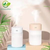 Humidificateur dair A Ultrasons Diffuseur Daromatherapie Portable Mini Aromatherapie Pulverisateur USB Huile Essentielle Atomiseur LAMPE A LED Maison