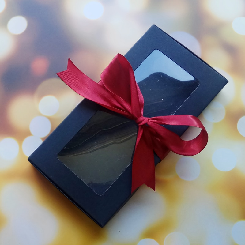 Caja de 10 Uds. Para fiestas, Caja de Regalo con cinta, Caja...