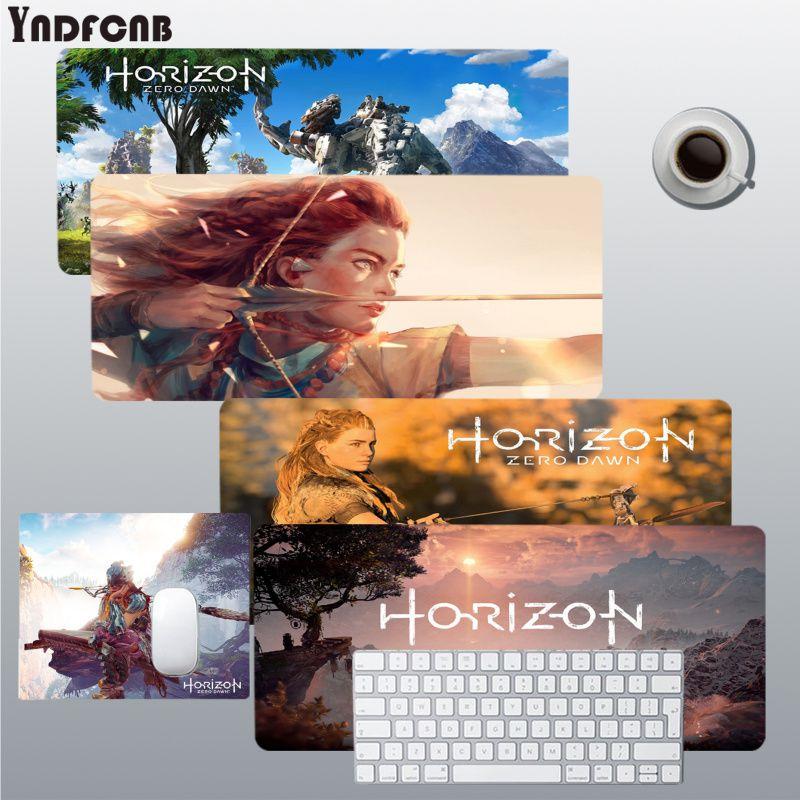YNDFCNB Horizon zero dawn простой дизайн игровые коврики коврик для мыши размер для Deak коврик для overwatch/cs go/world of warcraft